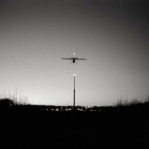 Landing on dusk, Helsinki Finland / Palladium print ©HATSUMI AND SEIJI MIZUNO