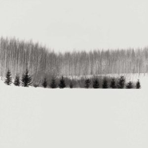 Snowy hill, Finland 2003 / Palladium print 2012 ©HATSUMI AND SEIJI MIZUNO